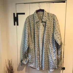 Prada Men's Button Up Size 17/43